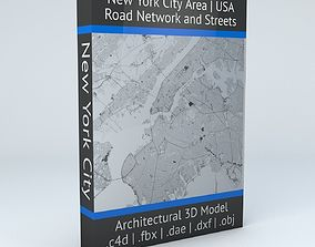 New York City 5 Boroughs Jersey Newark Road 3D model 2