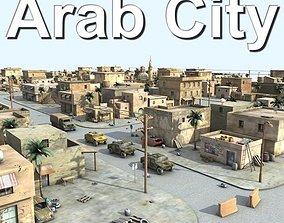 3D model Arab City 03