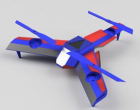 3D printable model Optimus Prime Drone Body