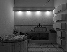 3D Ordinary Bed Room