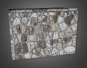 Outdoor Wall 17 GFS - PBR Game Ready 3D model
