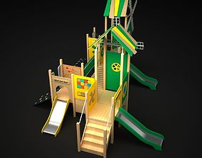 3D model Outdoor Castle Bridge