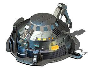 Future World - Mechanical Objects 02 3D