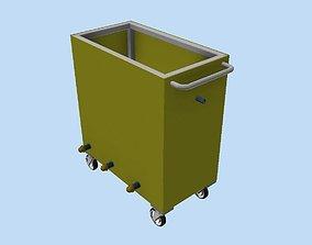 Heated level boiler 3D