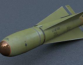 3D asset AGM 65D Maverick Air to Ground Missile