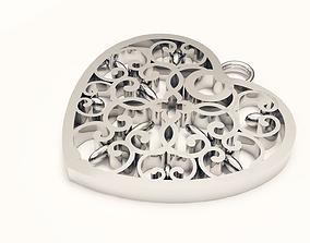 sweet heart 3D print model