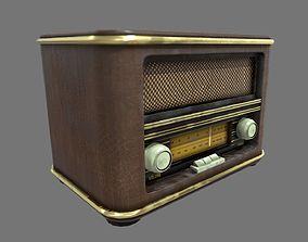 3D model 50s Radio