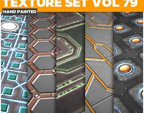 3D asset Scifi Vol 79 - Game PBR Textures