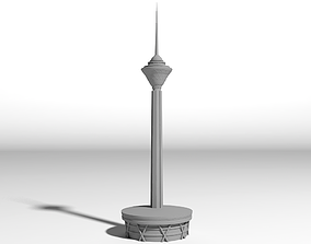 Milad Tower for 3D print architecture