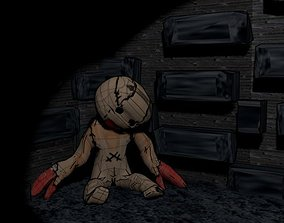 haunted doll 3D
