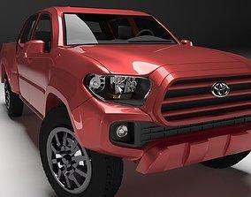 3D Toyota Tacoma 2016 Long