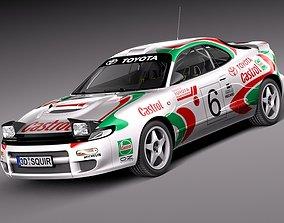 3D model Toyota Celica WRC Carlos Sainz 1991