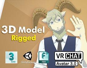 3D model Pina Beastars VRChat PC