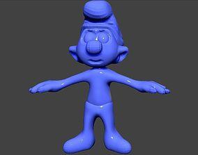 smurf 3D printable model