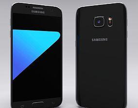 3D model Samsung Galaxy S7 Black