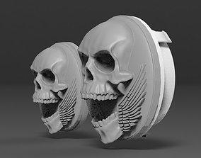 Skull Amblem 3D print model