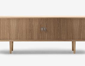 Hans Wegner Credenza cabinet 3D