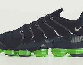 3D Nike Air Vapormax Plus Black Bolt