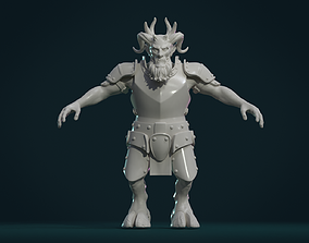 3D print model devil Demon figure II