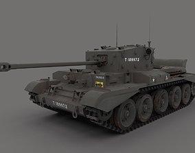 3D model Cromwell Tank WW2