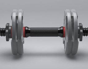 3D dumbell dumb-bell