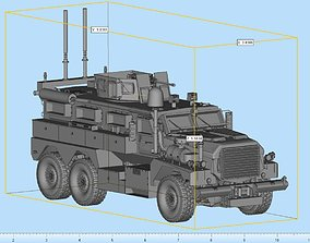 3D printable model miniatures Cougar MRAP Highly Detailed