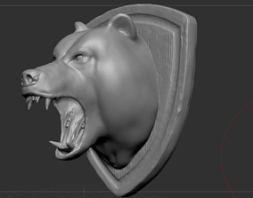 west Bear Head 3D printable model