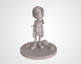 Music Cartoon Boy 3D Print High Detailed Model