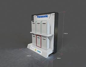 Panasonic Air Purifier End Cap Display 3D