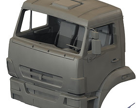 Cabin model KAMAZ-5350
