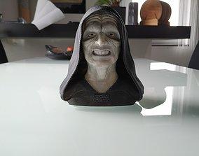 3D print model Palpatine Darth Sidious Bust
