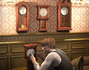 The Clock Collection 3D model