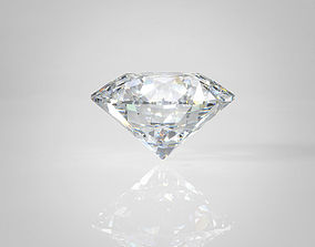 3D model Diamond Shapes