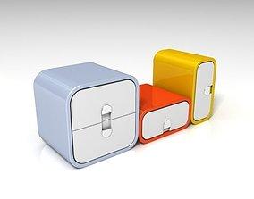 Portable locker 3D design