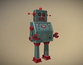 3D model Vintage Toy Robot