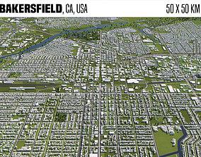 Bakersfield CA 3D model