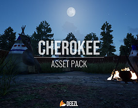 Cherokee - Asset Pack - All Formats low-poly