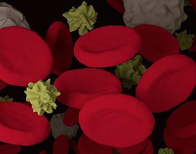 Blood Cells 3D science