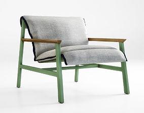 Mac chair by Jardan 3D model