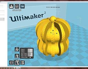 3D print model house Snowflake