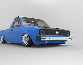 3D Volkswagen Caddy Mk1