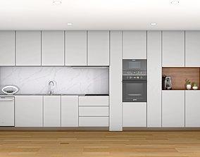Modern Kitchen design interior 3D