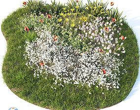 3D plant Flowerbed