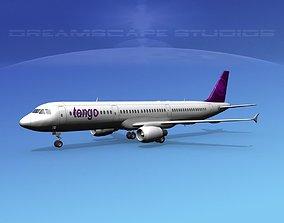 3D Airbus A321 Tango