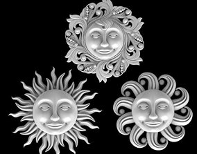 sun-star moon 3D print model