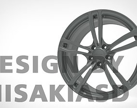 Wheel Rim Metal 3D model STR FORGED-01