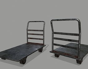 Trolley 3D model realtime