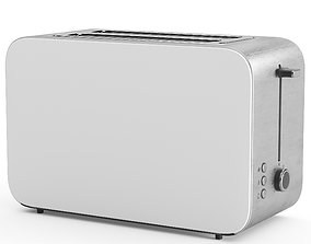 Toaster household brushed 3D