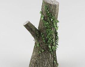 3D Tree 03 cut trunk