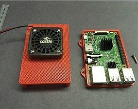 3D print model Raspberry Pi 3 Fan Case